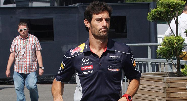 Mark Webber Red Bull 2013