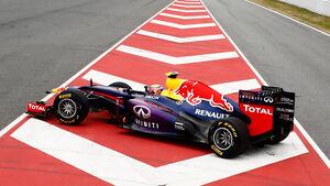 Mark Webber - Red Bull - Barcelona 2013