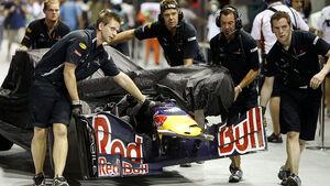Mark Webber Red Bull Crash Singapur 2009