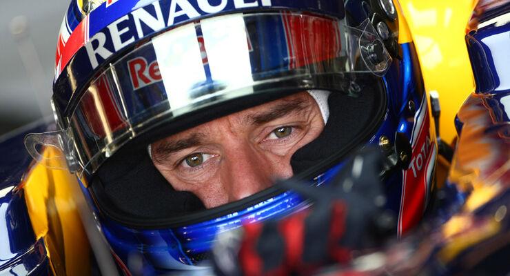 Mark Webber Red Bull Formel 1 2011