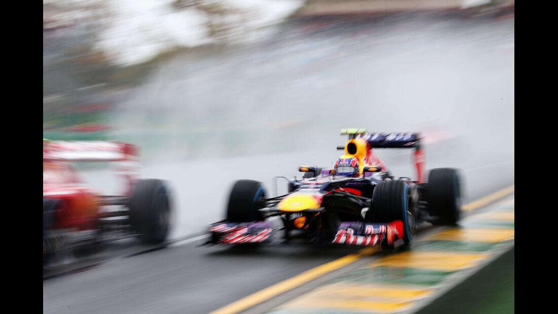 Mark Webber - Red Bull - Formel 1 - GP Australien - 16. März 2013