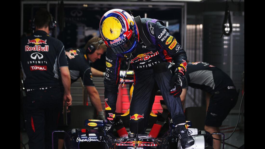 Mark Webber - Red Bull - Formel 1 - GP Bahrain - 19. April 2013