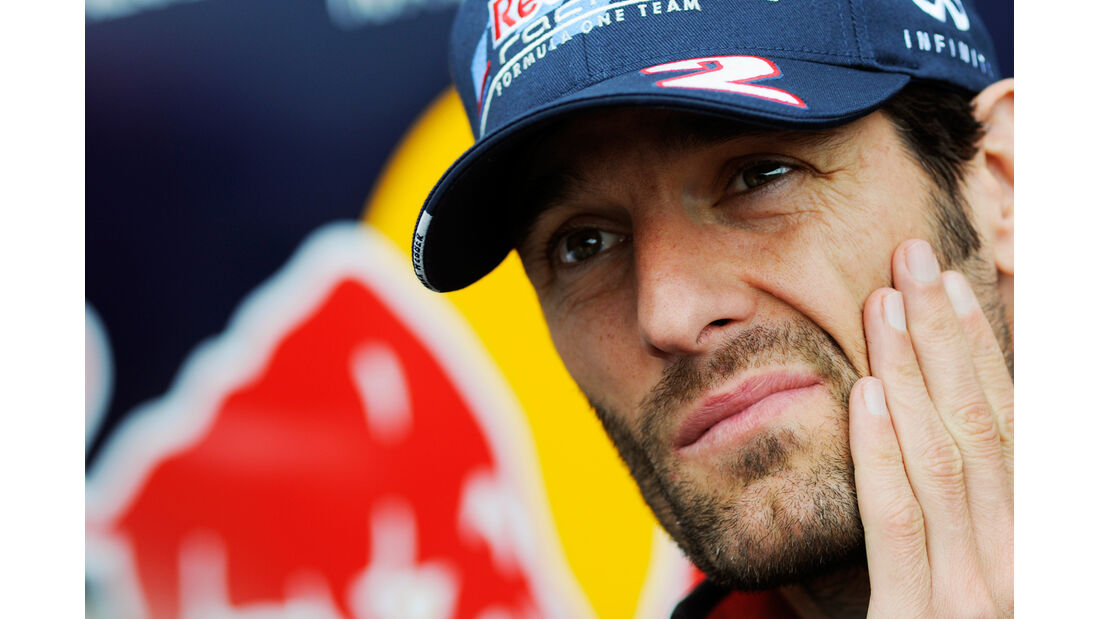 Mark Webber - Red Bull - Formel 1 - GP Belgien - Spa - 30.8.2012