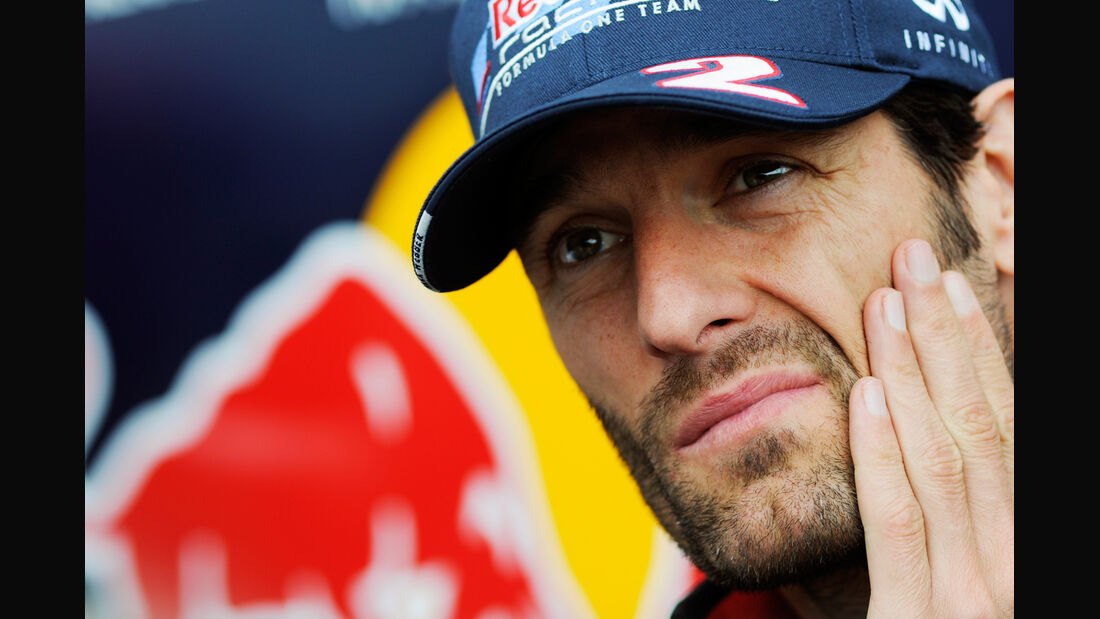 Mark Webber - Red Bull - Formel 1 - GP Belgien - Spa - 30.8.2012