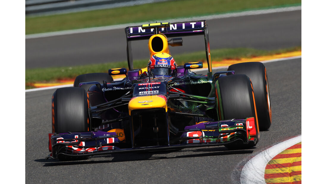 Mark Webber - Red Bull - Formel 1 - GP Belgien - Spa-Francorchamps - 23. August 2013