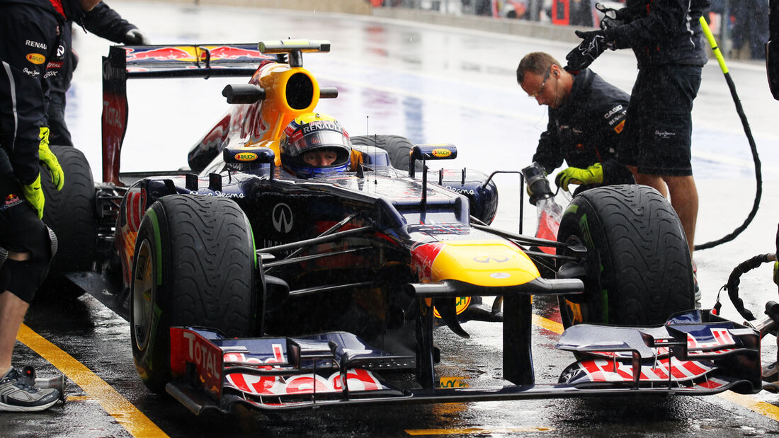 Mark Webber - Red Bull - Formel 1 - GP Belgien - Spa-Francorchamps - 31. August 2012
