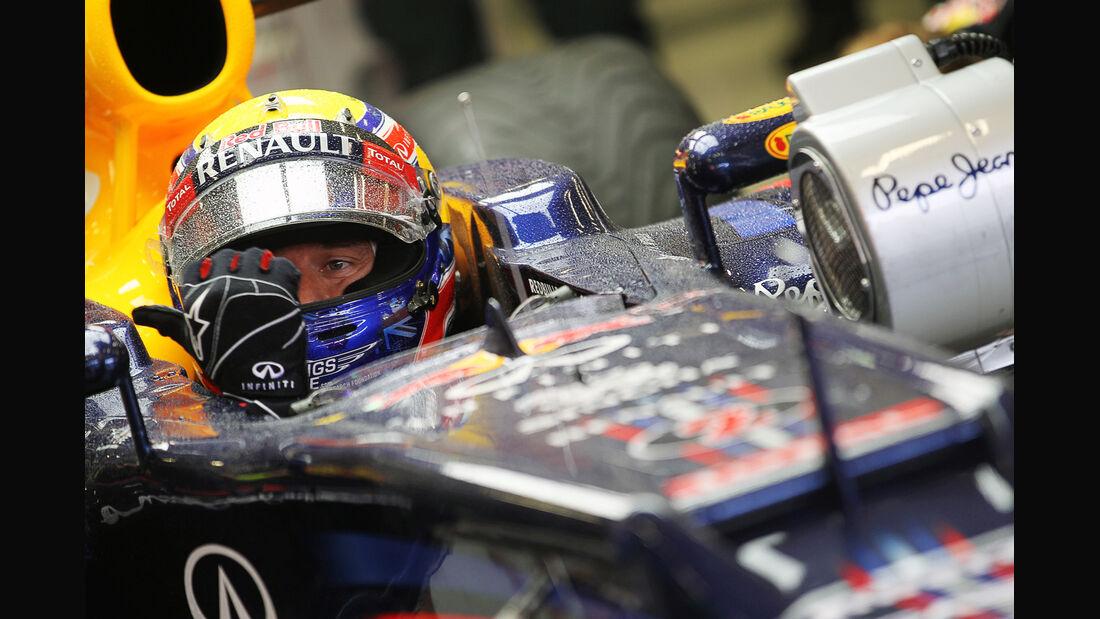 Mark Webber - Red Bull - Formel 1 - GP Belgien - Spa-Francorchamps - 31. August 2012