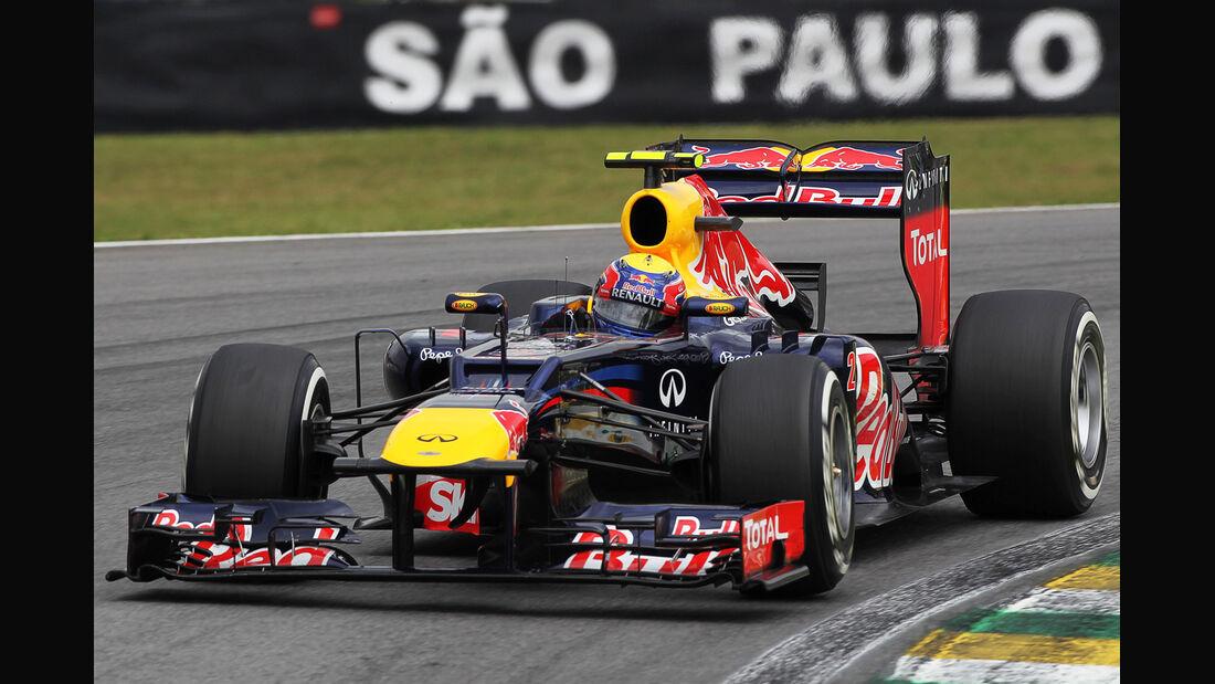 Mark Webber - Red Bull - Formel 1 - GP Brasilien - Sao Paulo - 24. November 2012