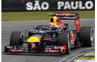 Mark Webber - Red Bull - Formel 1 - GP Brasilien - Sao Paulo - 24. November 2012
