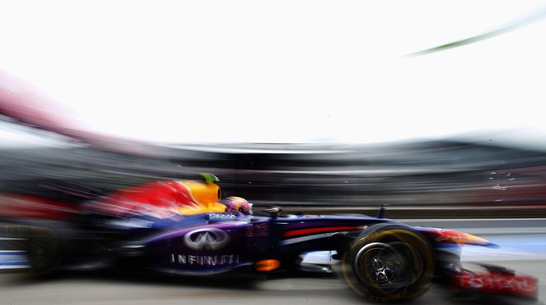 Mark Webber - Red Bull - Formel 1 - GP Deutschland - 5. Juli 2013