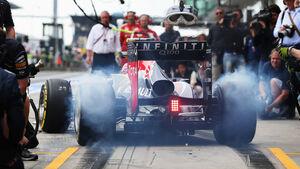 Mark Webber - Red Bull - Formel 1 - GP Deutschland - 6. Juli 2013