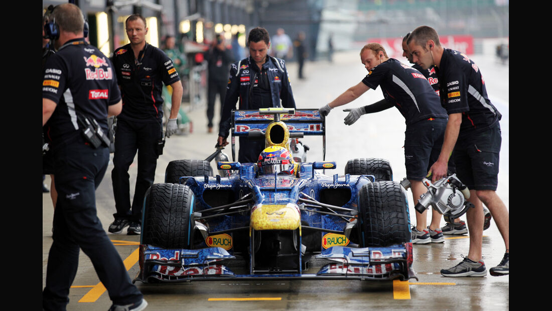 Mark Webber - Red Bull - Formel 1 - GP England - Silverstone - 6. Juli 2012