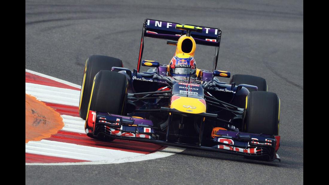 Mark Webber - Red Bull - Formel 1 - GP Indien - 26. Oktober 2013