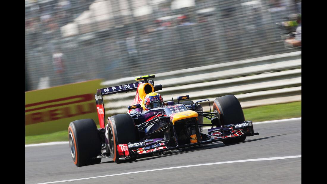 Mark Webber - Red Bull - Formel 1 - GP Italien - Monza - 6. September 2013