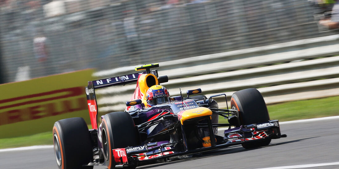Mark Webber - Red Bull - Formel 1 - GP Italien - Monza - 6. September 2013
