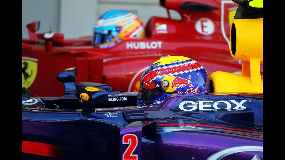 Mark Webber - Red Bull - Formel 1 - GP Japan - 12. Oktober 2013