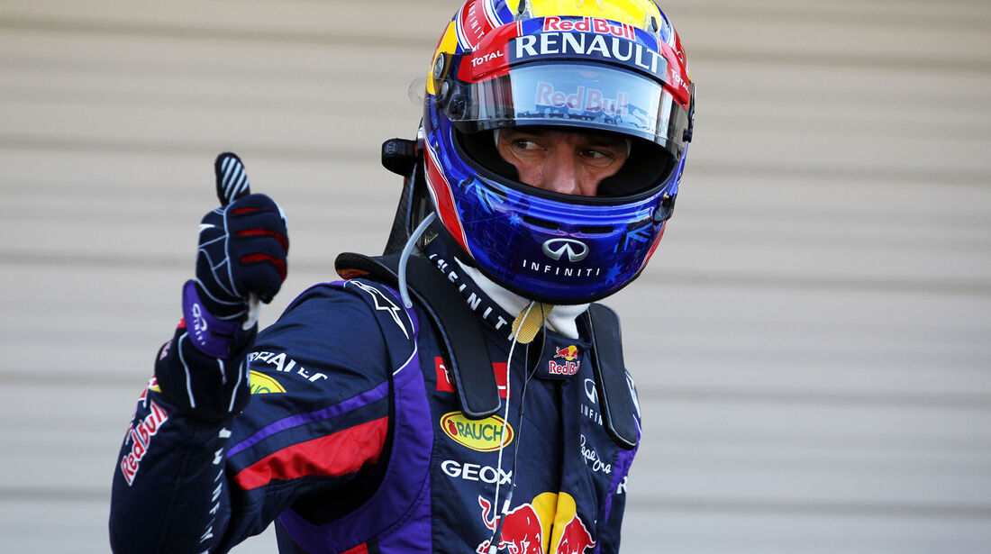 Mark Webber - Red Bull - Formel 1 - GP Japan - 12. Oktober 2013