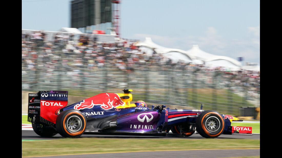 Mark Webber - Red Bull - Formel 1 - GP Japan 2013