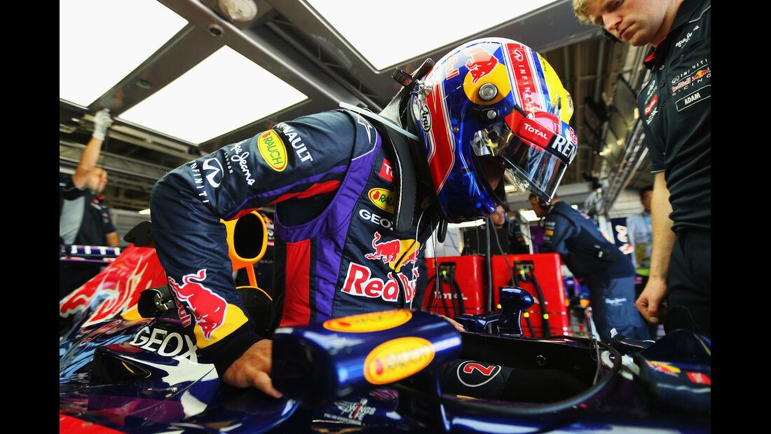 Mark Webber - Red Bull - Formel 1 - GP Japan - Suzuka - 11. Oktober 2013