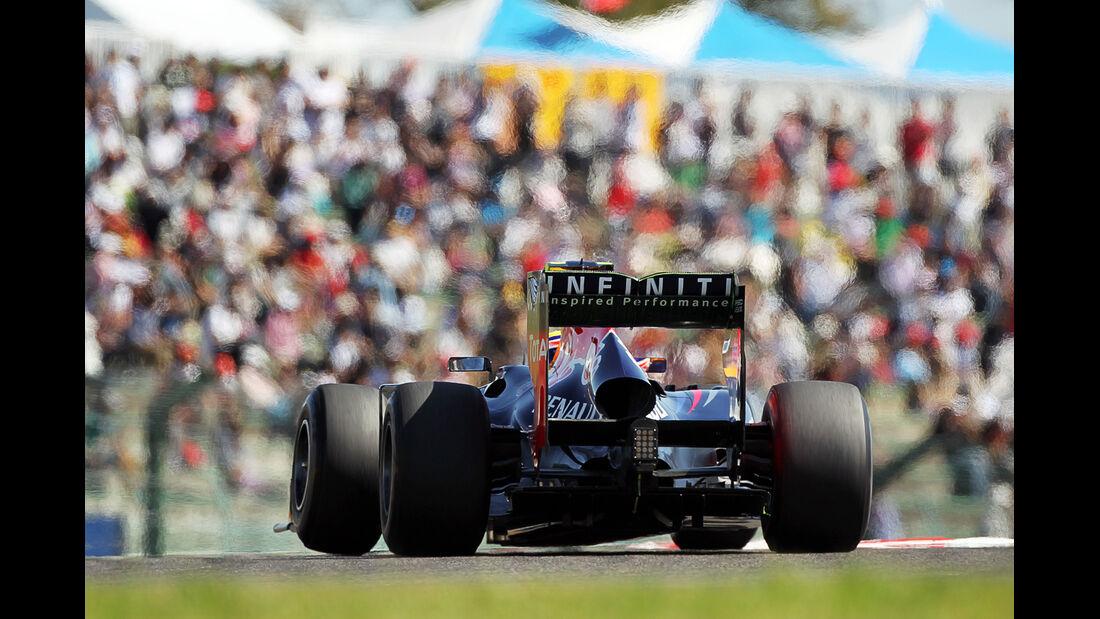 Mark Webber - Red Bull - Formel 1 - GP Japan - Suzuka - 5. Oktober 2012
