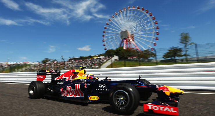 Mark Webber - Red Bull - Formel 1 - GP Japan - Suzuka - 5. Oktober 2012