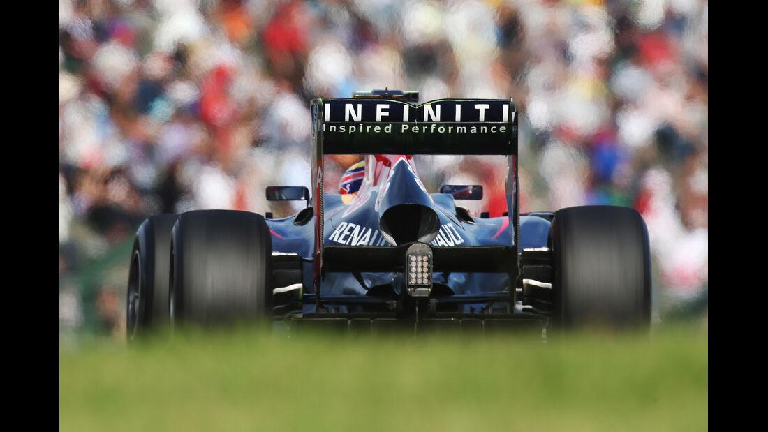 Mark Webber - Red Bull - Formel 1 - GP Japan - Suzuka - 6. Oktober 2012