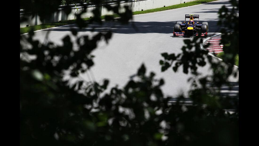 Mark Webber - Red Bull - Formel 1 - GP Kanada - 10. Juni 2012