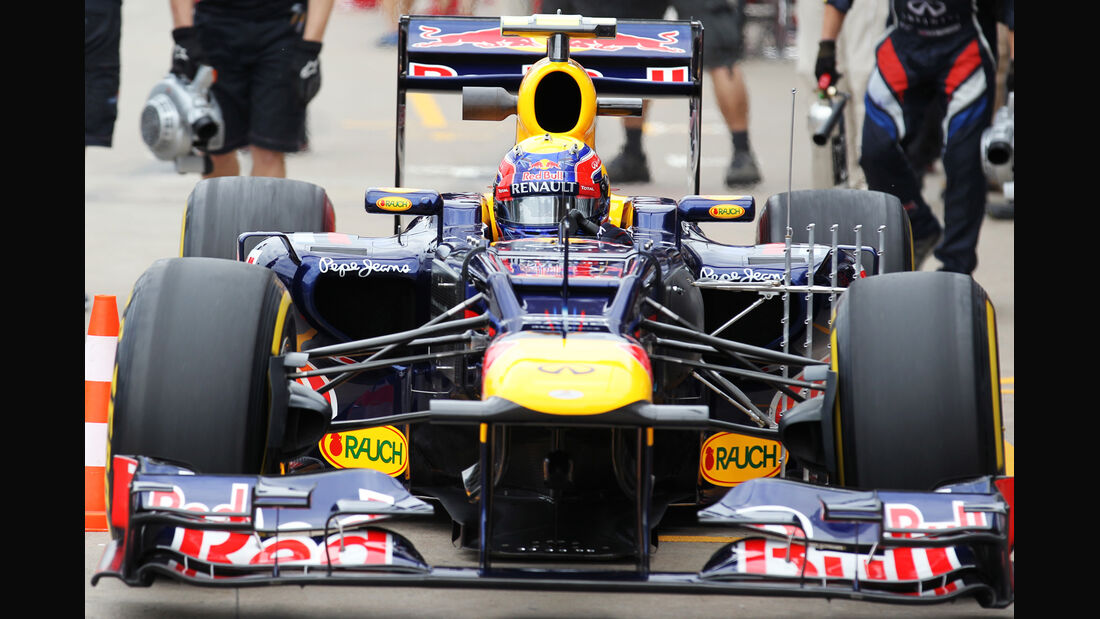 Mark Webber - Red Bull - Formel 1 - GP Kanada 2012 - 8. Juni 2012