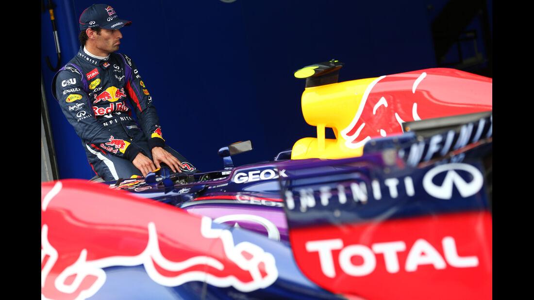 Mark Webber - Red Bull - Formel 1 - GP Korea - 5. Oktober 2013