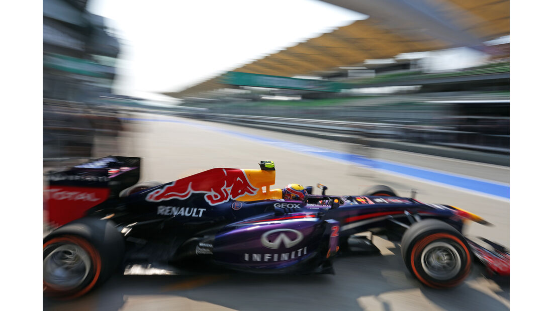 Mark Webber - Red Bull - Formel 1 - GP Malaysia - 22. März 2013