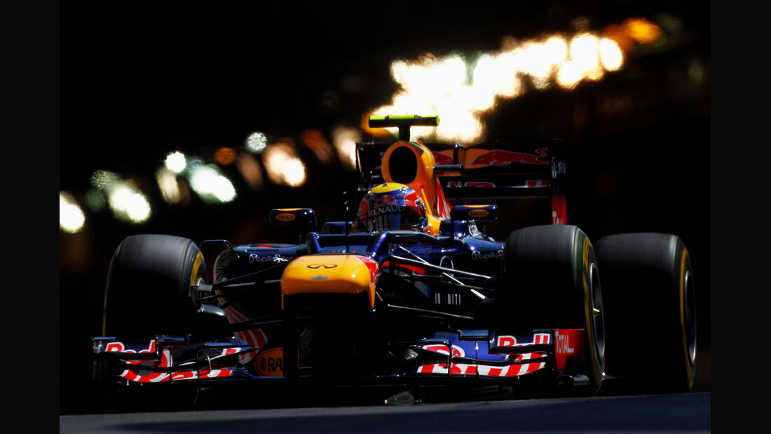Mark Webber - Red Bull - Formel 1 - GP Monaco - 24. Mai 2012