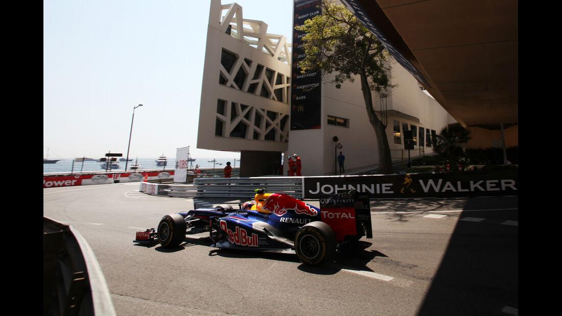 Mark Webber - Red Bull - Formel 1 - GP Monaco - 26. Mai 2012