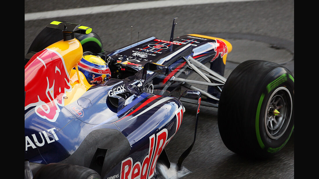 Mark Webber - Red Bull - Formel 1 - GP Monado - 24.Mai