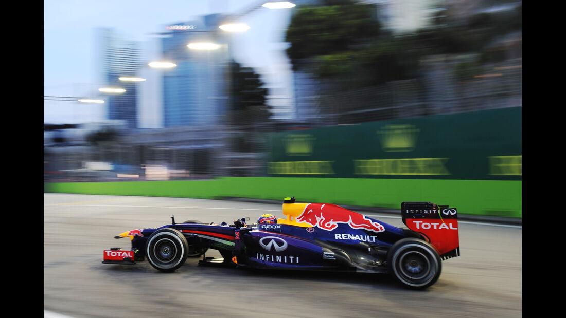 Mark Webber - Red Bull - Formel 1 - GP Singapur - 20. September 2013
