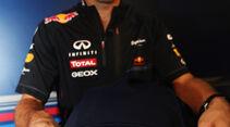 Mark Webber - Red Bull - Formel 1 - GP Singapur - 21. September 2012