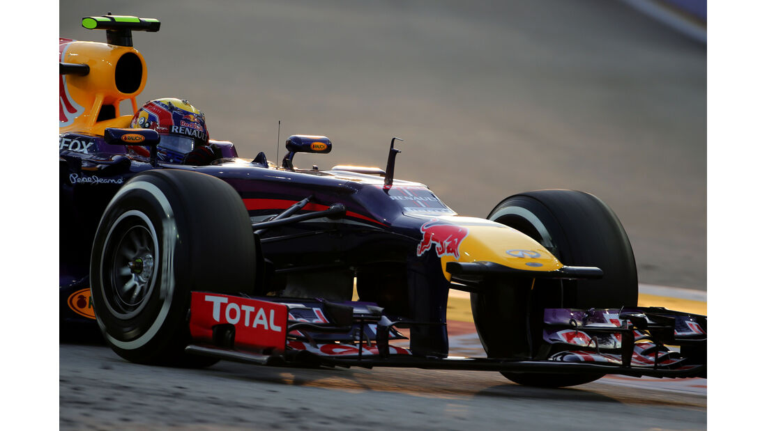 Mark Webber - Red Bull - Formel 1 - GP Singapur - 21. September 2013