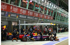 Mark Webber - Red Bull - Formel 1 - GP Singapur - 21. September 2013