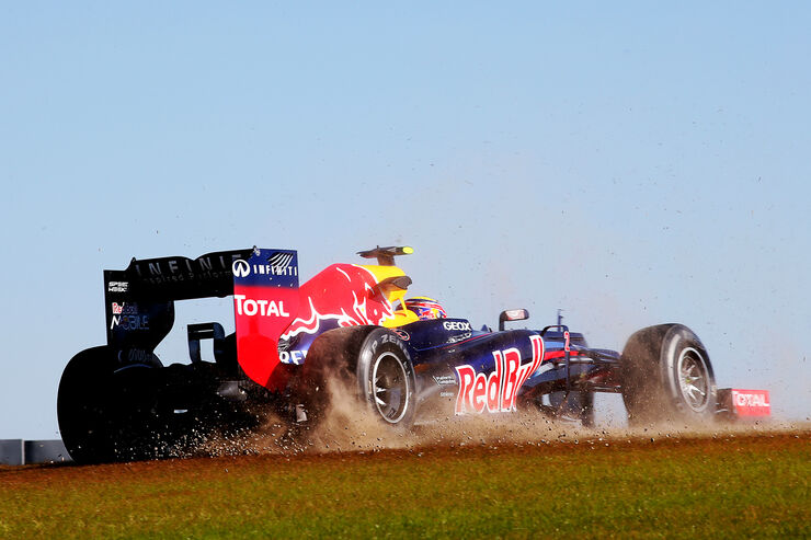 Mark Webber - Red Bull - Formel 1 - GP USA - Austin - 16. November 2012