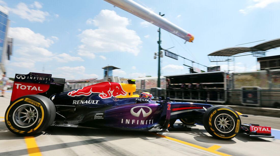 Mark Webber - Red Bull - Formel 1 - GP Ungarn - 26. Juli 2013