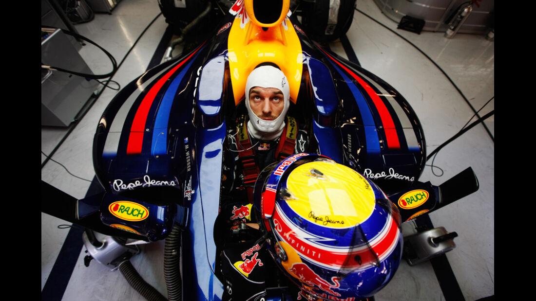 Mark Webber - Red Bull - Formel 1-Test - Barcelona - 2012