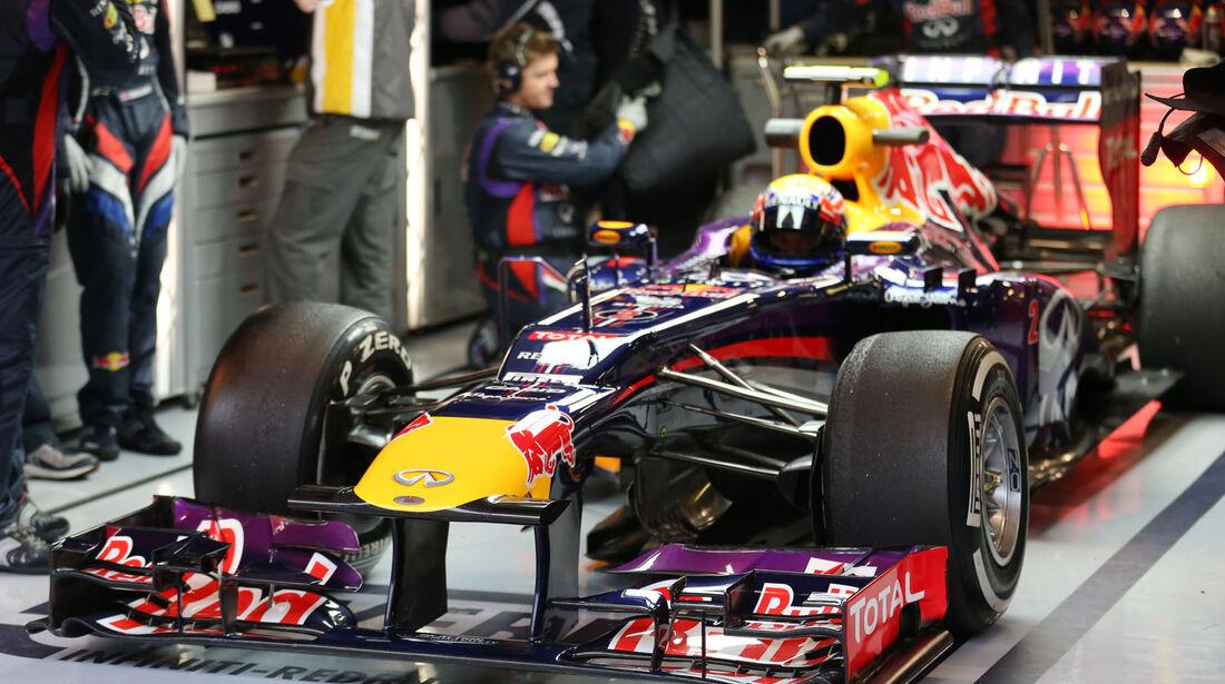 Mark Webber, Red Bull, Formel 1-Test, Barcelona, 22. Februar 2013