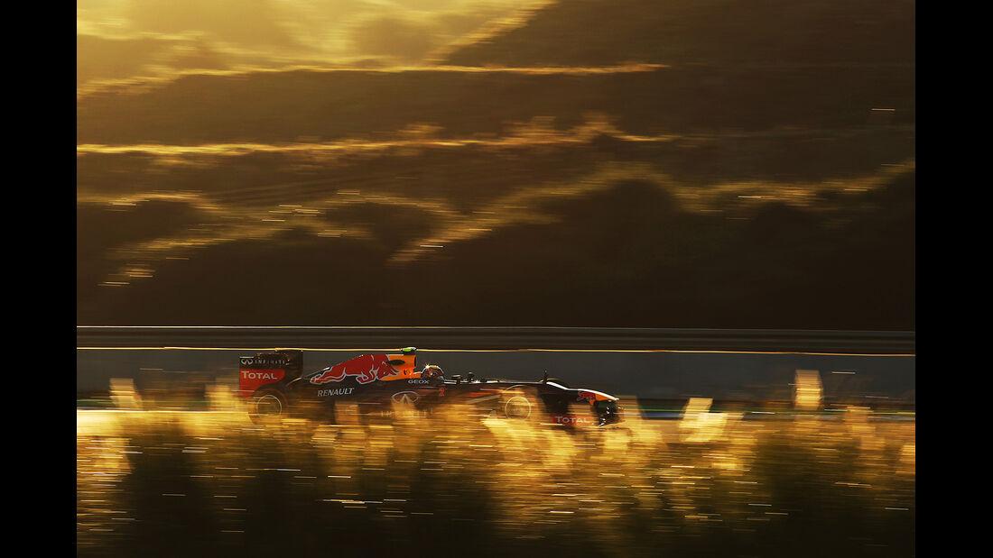 Mark Webber, Red Bull, Formel 1-Test, Jerez, 6.2.2013