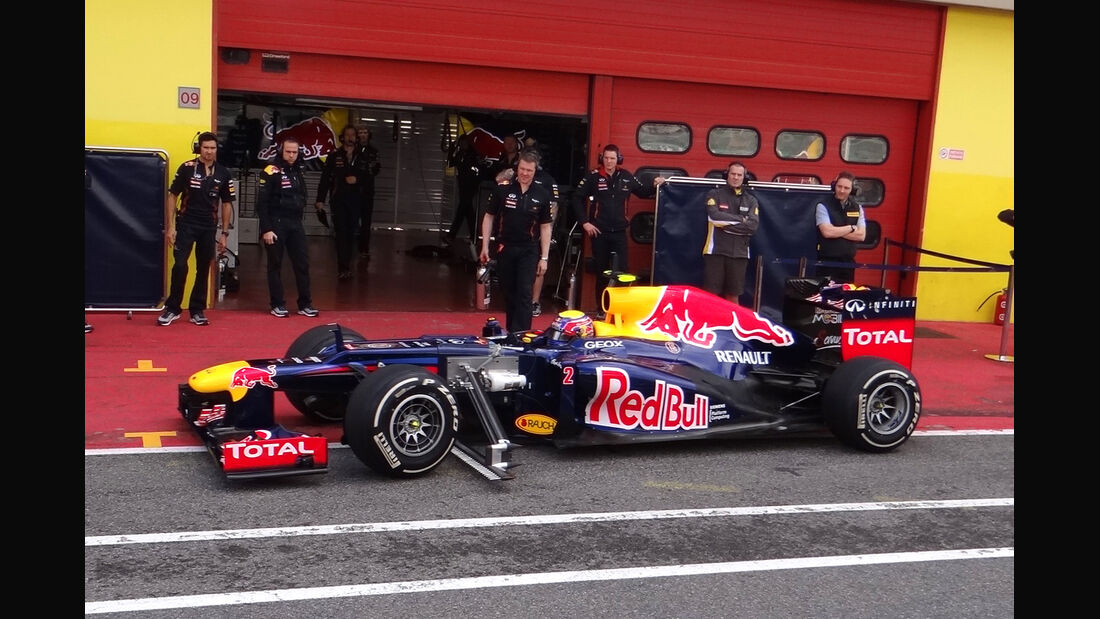 Mark Webber - Red Bull - Formel 1-Test - Mugello - 2. Mai 2012