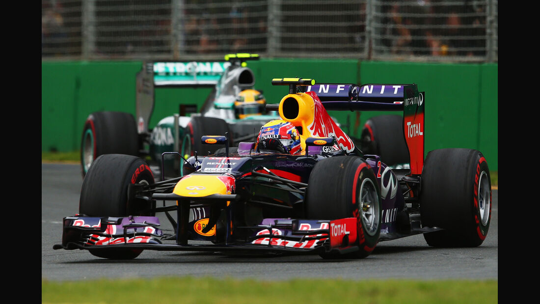 Mark Webber Red Bull GP Australien 2013