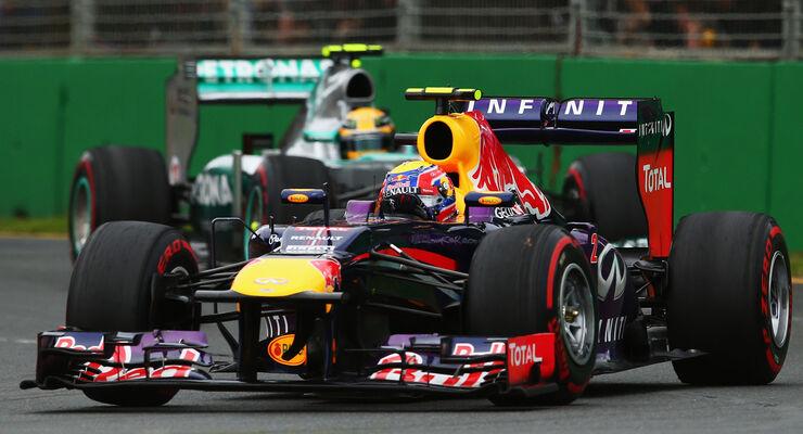 Mark Webber Red Bull GP Australien 2013