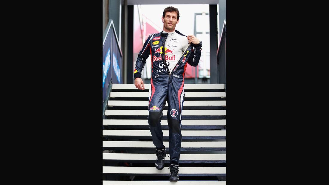 Mark Webber - Red Bull - GP Australien - Melbourne - 15. März 2012