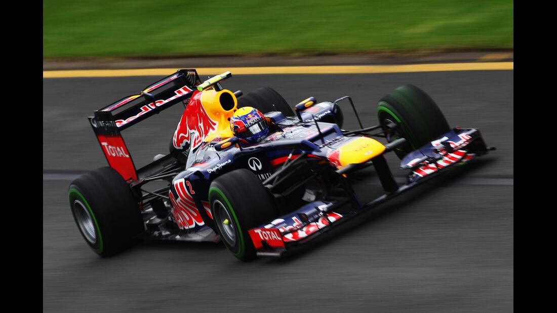 Mark Webber - Red Bull - GP Australien - Melbourne - 16. März 2012