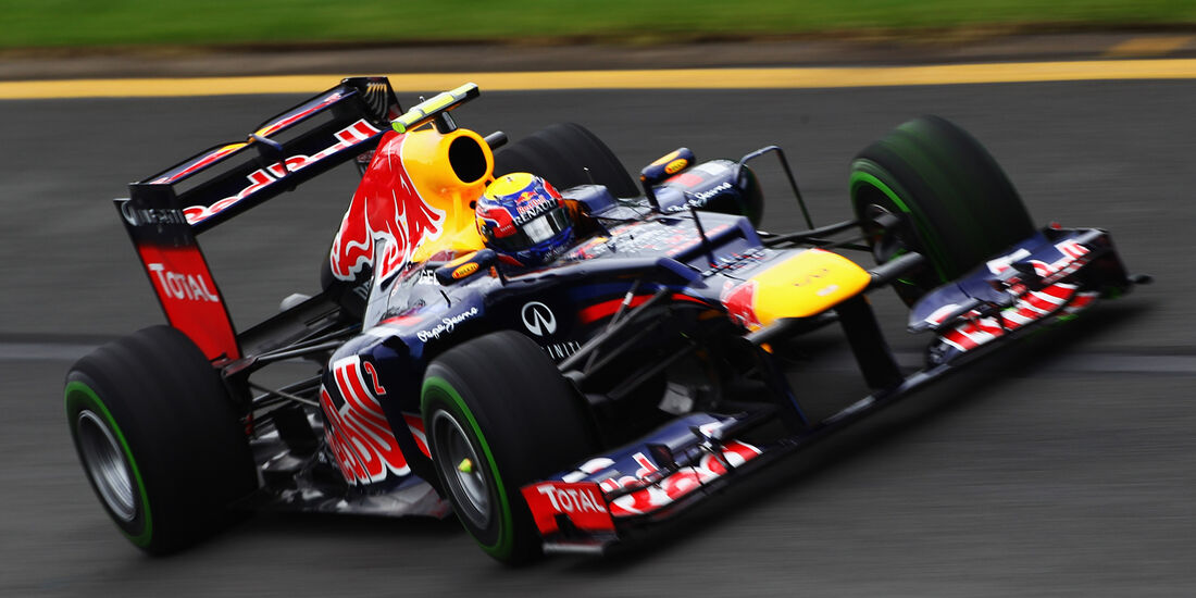 Mark Webber - Red Bull - GP Australien - Melbourne - 16. März 2012