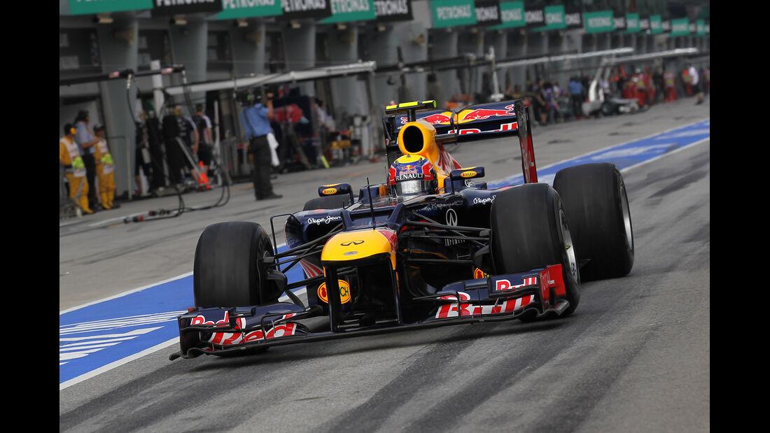 Mark Webber - Red Bull - GP Malaysia 2012