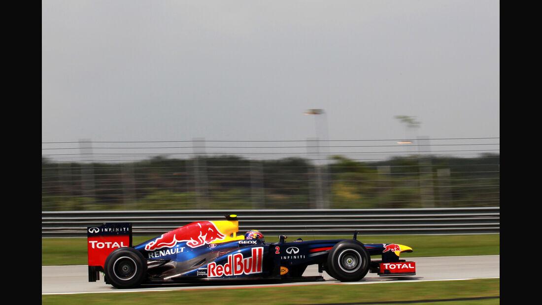 Mark Webber - Red Bull - GP Malaysia - Training - 23. März 2012